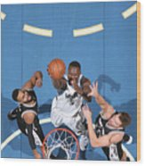 Gorgui Dieng Wood Print