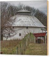 Gwinnup Round Barn #3 Wood Print
