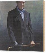 Harold Shull Circa 2004 Wood Print