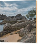 Hin Khrong View Point at Chanthaburi, Thailand Wood Print