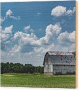 Indiana Barn, #5 Wood Print