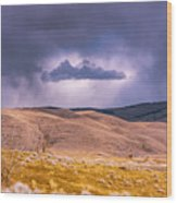 Is That Cloud Holy? Wood Print