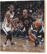 Isaiah Whitehead and Chris Paul Wood Print
