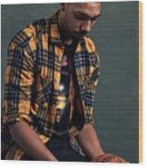 Jahlil Okafor Wood Print