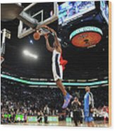 Jameer Nelson and Dwight Howard Wood Print