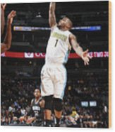 Jameer Nelson Wood Print