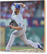 James Shields Wood Print
