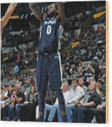 Jamychal Green Wood Print