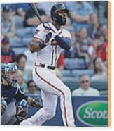 Jason Heyward Wood Print
