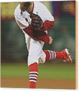 Jason Motte Wood Print