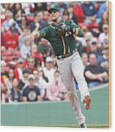 Jed Lowrie Wood Print