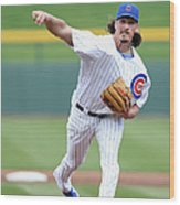 Jeff Samardzija Wood Print