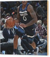 Jeff Teague Wood Print