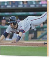 Jeimer Candelario and Brian Dozier Wood Print
