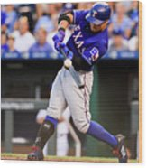 Joey Gallo and Shin-soo Choo Wood Print