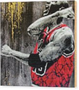 Jordan - The Best There Ever Was Wood Print