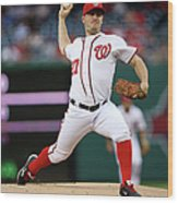 Jordan Zimmermann Wood Print