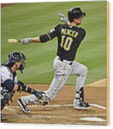 Jordy Mercer Wood Print