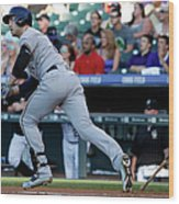 Jorge De La Rosa and Ryan Braun Wood Print