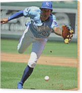 Jorge Polanco and Raul Mondesi Wood Print