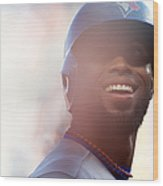 Jose Reyes Wood Print