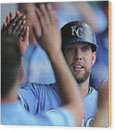 Justin Maxwell And Alex Gordon Wood Print