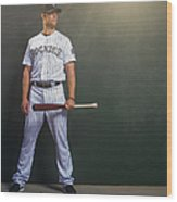 Justin Morneau Wood Print