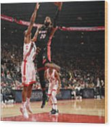 Justise Winslow Wood Print