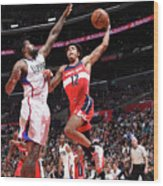 Kelly Oubre Wood Print