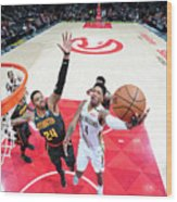 Kent Bazemore and Elfrid Payton Wood Print