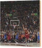 Kevin Durant and Richard Jefferson Wood Print