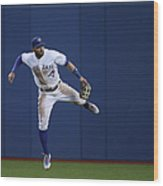 Kevin Pillar and Jonathan Schoop Wood Print