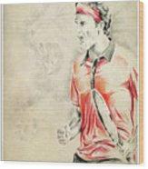 King Roger - Poster Wood Print