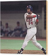 Kirby Puckett Wood Print