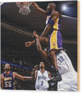 Kobe Bryant and Dwight Howard Wood Print