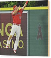 Kyle Seager and Mike Trout Wood Print
