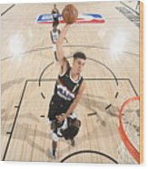 LA Clippers v Denver Nuggets - Game Three Wood Print