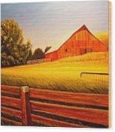 La Crosse Barn Wood Print