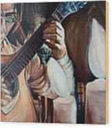 La Guitarra- Portuguese Guitar Wood Print