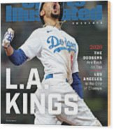 Los Angeles Dodgers Special World Series Commemorative Sports Illustrated Cover Wood Print