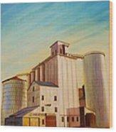 Latah County Grain Growers Wood Print