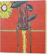 Lido flower Wood Print