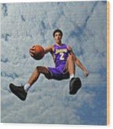Lonzo Ball Wood Print