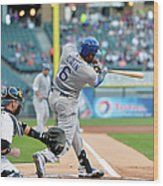 Lorenzo Cain, Alex Gordon, and Billy Butler Wood Print
