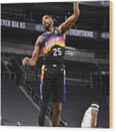 Los Angeles Clippers v Phoenix Suns Wood Print