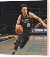 Los Angeles Lakers v Brooklyn Nets Wood Print