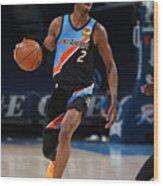 Los Angeles Lakers v Oklahoma City Thunder Wood Print