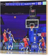Los Angeles Lakers v Philadelphia 76ers Wood Print