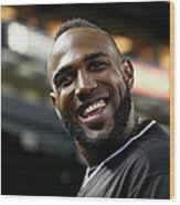 Marcell Ozuna Wood Print