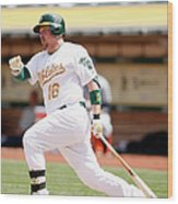 Marcus Semien and Billy Butler Wood Print